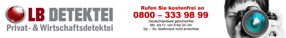 LB - Ihre Detektei am Einsatzort Ulm